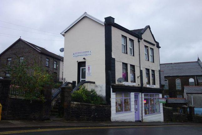 Shop Front of Ebenezer Road, Tonypandy CF40