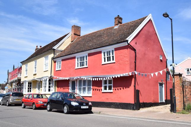 Thumbnail End terrace house for sale in High Street, Hadleigh, Ipswich