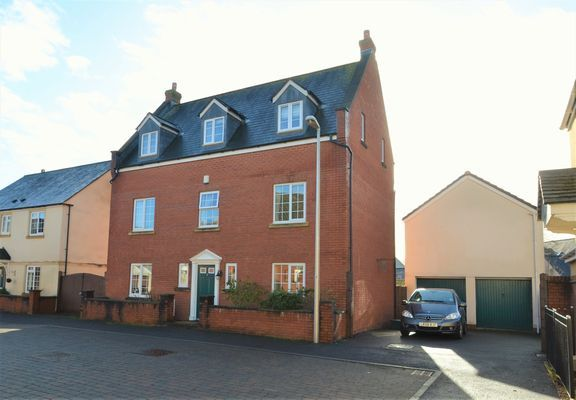 Thumbnail Detached house for sale in St. Thomas Court, Tiverton