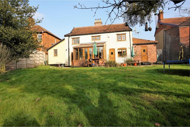 Thumbnail Detached house for sale in Station Road, Wymondham
