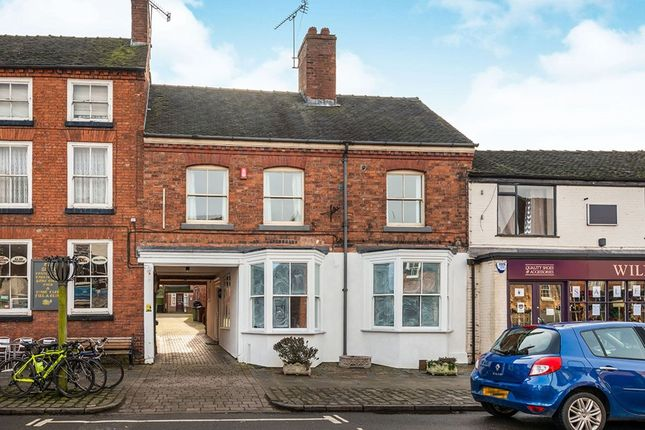 Thumbnail Flat to rent in High Street, Eccleshall, Stafford