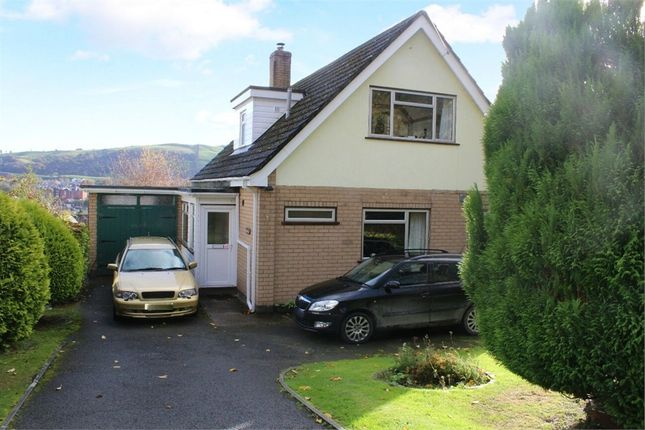 Thumbnail Detached house for sale in High Trees, Fron Lane, Newtown, Powys