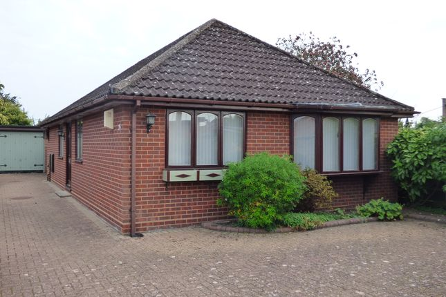 Thumbnail Detached bungalow for sale in Warwick Road, Totton