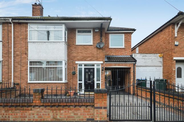 Thumbnail Semi-detached house for sale in Royal Crescent, Weeford Estate, Coventry
