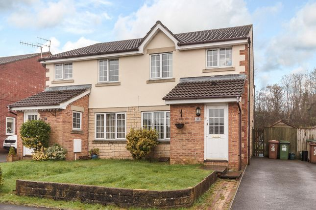 Thumbnail Semi-detached house for sale in Cwrt Nant Y Felin, Caerphilly