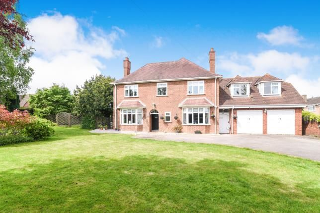 Thumbnail Detached house for sale in Pershore Road, Evesham, Worcestershire