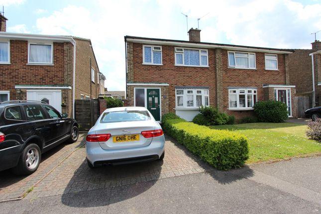 Thumbnail Semi-detached house for sale in Kilndown Close, Allington, Maidstone