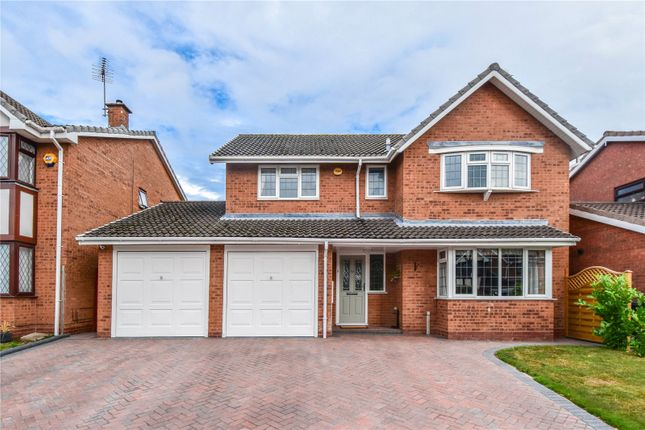 Thumbnail Detached house for sale in Fircroft Close, Stoke Heath, Bromsgrove