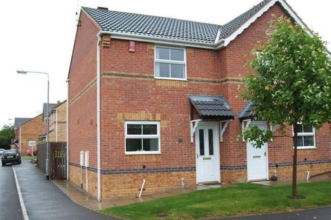 Thumbnail Semi-detached house to rent in Mill Lane, Huthwaite, Sutton-In-Ashfield