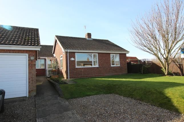 Thumbnail Bungalow for sale in Upton, Norwich, Norfolk