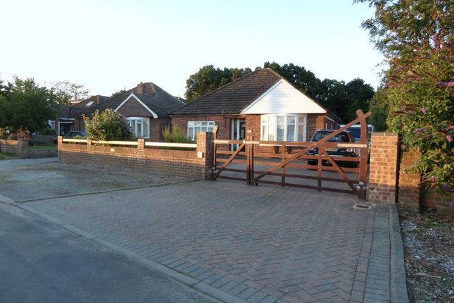 Thumbnail Detached bungalow for sale in Burnt House Lane, Stubbington, Fareham