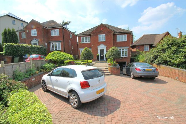 Thumbnail Detached house to rent in Deacons Hill Road, Elstree, Hertfordshire