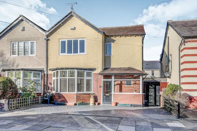 Thumbnail Semi-detached house for sale in Tynedale Avenue, Whitley Bay