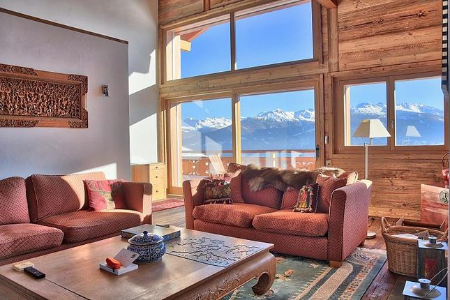Thumbnail Apartment for sale in Ancolie Penthouse, Anzère, Valais, Switzerland