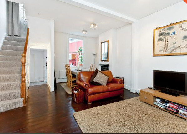 Thumbnail End terrace house to rent in Strath Terrace, London