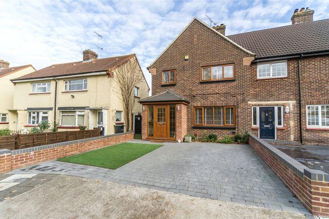 Thumbnail End terrace house for sale in Boucher Drive, Northfleet, Gravesend, Kent