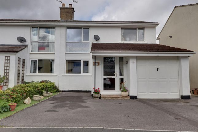 Thumbnail Semi-detached house for sale in The Glebe, Timsbury, Bath