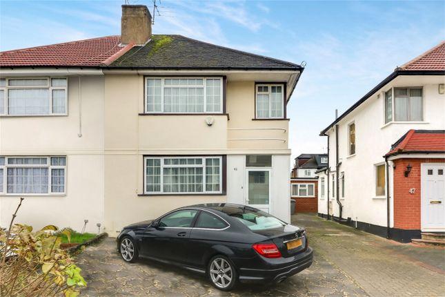 Thumbnail Semi-detached house to rent in Chapman Crescent, Harrow