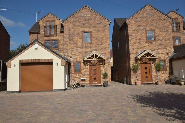 Thumbnail Detached house for sale in Laund Avenue, Belper, Derbyshire