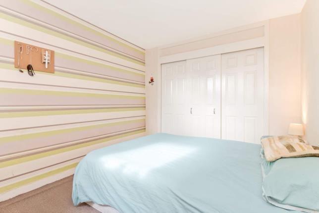 Bedroom of George Street, Ayr, South Ayrshire KA8