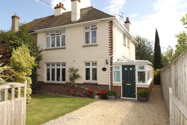 Thumbnail Semi-detached house to rent in Primley Road, Sidmouth