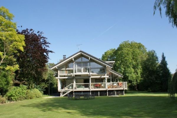Detached house for sale in Thames Drive, Charvil, Reading