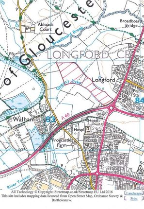 Thumbnail Land for sale in Land At Longford Roundabout, Gloucester, Gloucestershire
