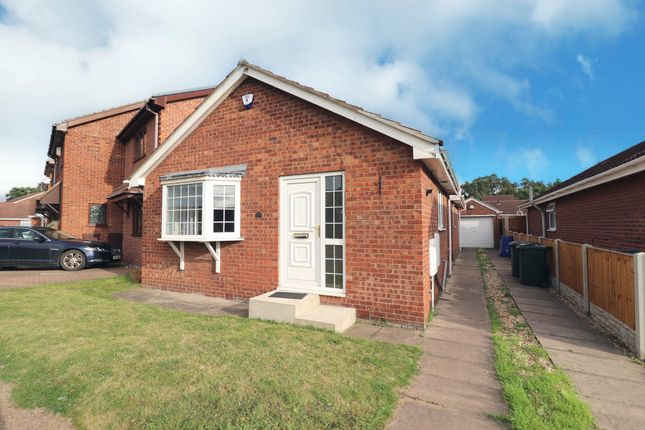 Thumbnail Detached bungalow for sale in Meadowfield Road, Barnby Dun, Doncaster