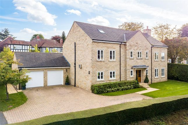 Thumbnail Detached house for sale in Wharfe View House, Langwith Wood Court, Collingham, Wetherby, West Yorkshire
