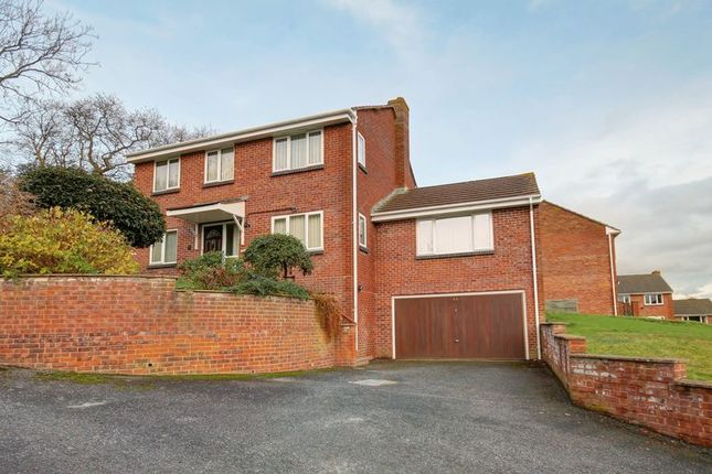 Thumbnail Detached house for sale in Stoke Valley Road, Exeter