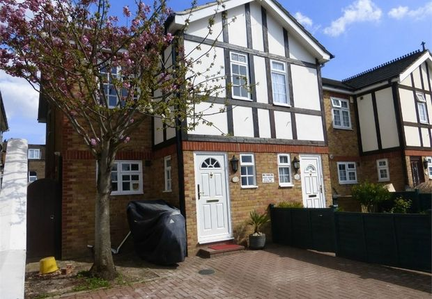 Thumbnail End terrace house for sale in Shirley Gardens, Hanwell, London