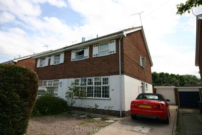 Thumbnail Semi-detached house to rent in Winscombe Drive, Vicars Cross, Chester