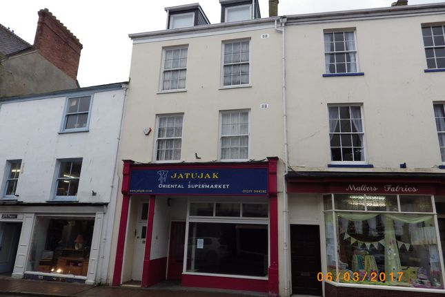 Thumbnail Detached house to rent in Boutport Street, Barnstaple