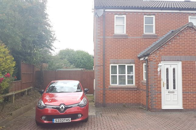 Thumbnail Semi-detached house to rent in Bryony Road, Hamilton, Leicester