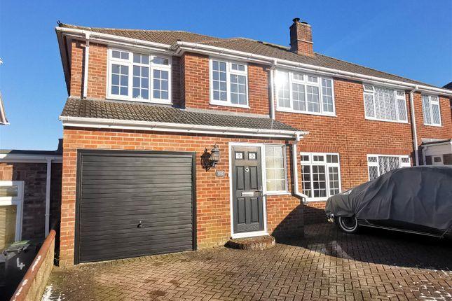 Thumbnail Semi-detached house for sale in Hawthorn Way, Basingstoke