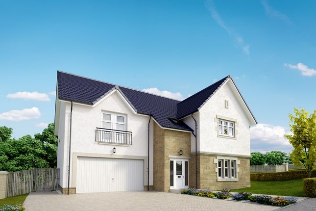 """Thumbnail Detached house for sale in """"The Moncrief"""" at Peel Road, Thorntonhall, Glasgow"""