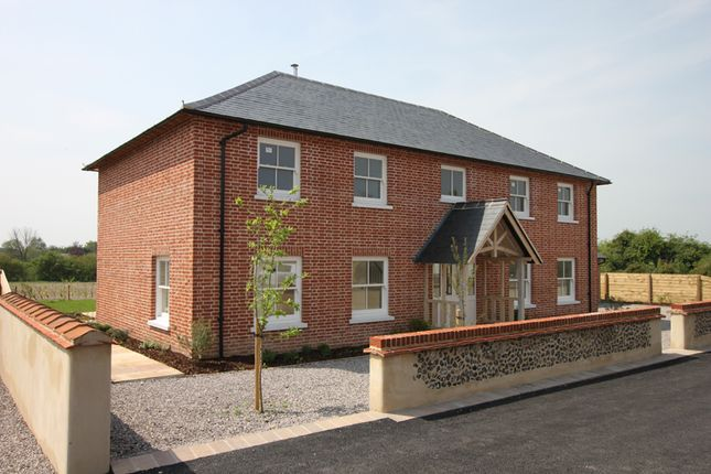 Thumbnail Detached house for sale in Amport Fields, Near Weyhill, Andover, Hampshire