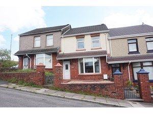 Thumbnail Terraced house to rent in Fields Road, Tredegar