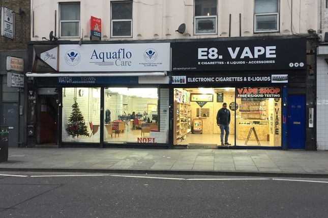 Thumbnail Retail premises for sale in Kingsland High Street, London
