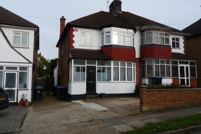 Thumbnail Semi-detached house for sale in Windermere Avenue, South Kenton