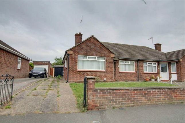 Thumbnail Semi-detached bungalow for sale in Baden Powell Drive, Prettygate, Colchester, Essex