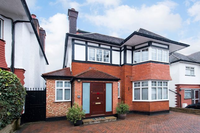 Thumbnail Detached house for sale in Haslemere Avenue, London
