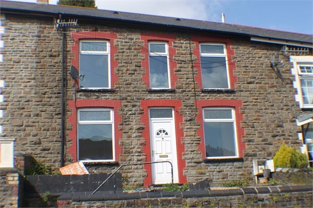 Thumbnail Terraced house to rent in Bryn Terrace, Ystrad, Rhondda Cynon Taff.