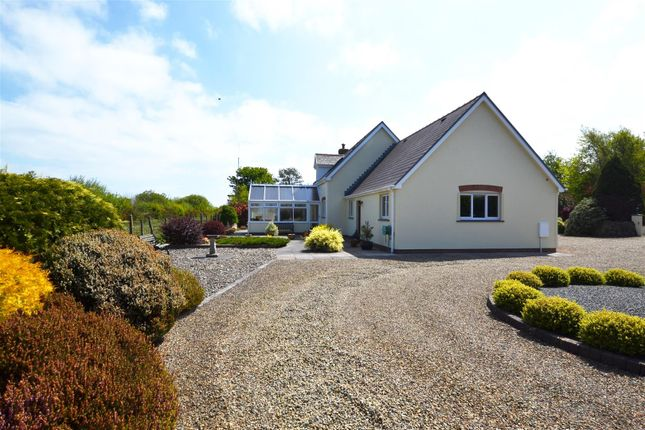 5 bed detached house for sale in Longstone, Station Road, Letterston, Haverfordwest