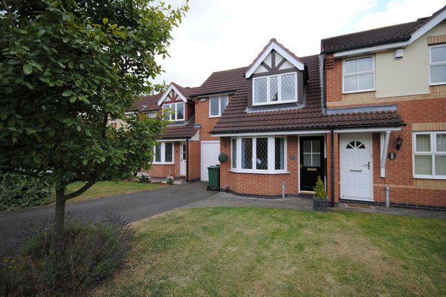 Thumbnail Town house to rent in Kestrel Lane, Mountsorrel, Loughborough