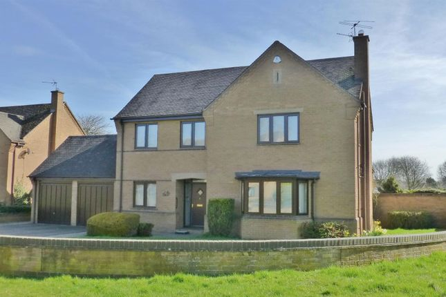 Thumbnail Detached house for sale in Lodge Gardens, Oakham