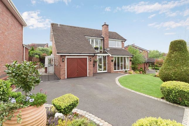Thumbnail Detached house for sale in Grangefields, Biddulph, Stoke-On-Trent