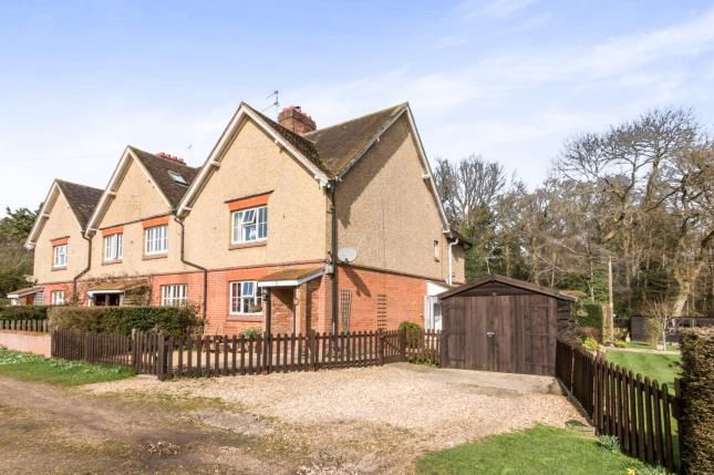 Thumbnail End terrace house for sale in Rotherwick, Hook