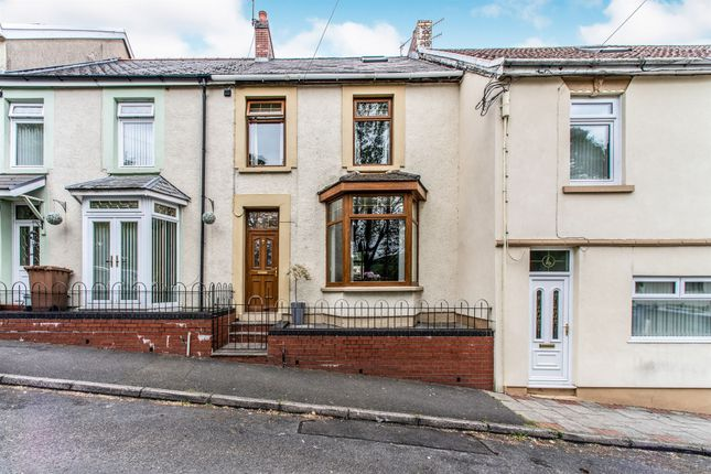 Thumbnail Terraced house for sale in The Green, Abertysswg, Tredegar