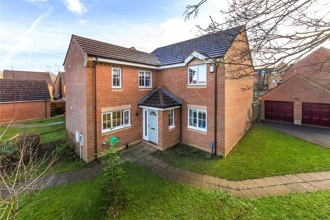 Thumbnail Detached house to rent in Kay Walk, St. Albans, Hertfordshire
